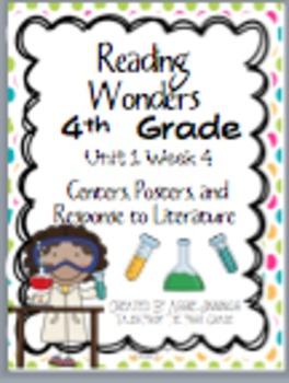 Reading Wonders Fourth Grade Unit 1 Week 4