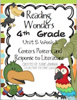 Reading Wonders Fourth Grade Unit 2 Week 1