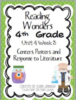 Reading Wonders Fourth Grade Unit 4 Week 3