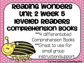 Reading Wonders Gr 2 Unit 2 Wk 5 Leveled Reader Activities