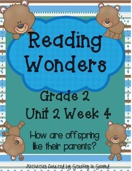 Reading Wonders Grade 2 Unit 2 Week 4