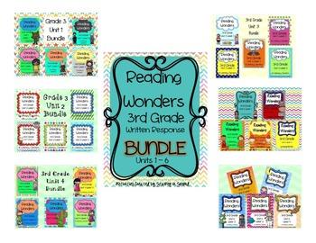 Reading Wonders Grade 3 FULL YEAR BUNDLE