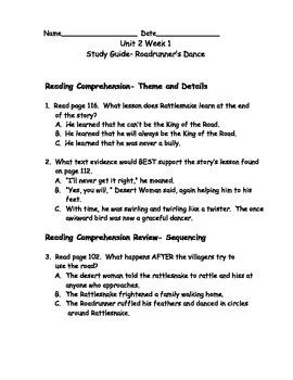 Reading Wonders Grade 3 Unit 2 Week 1 Comprehension Worksheets