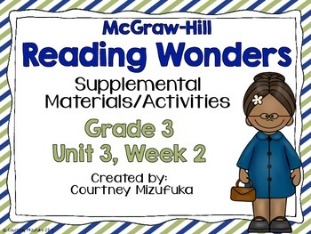 Reading Wonders Grade 3 {Unit 3, Week 2}