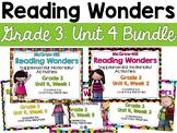 Reading Wonders Grade 3 {Unit 4 Bundle}