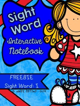 Wonders Kindergarten Sight Word Interactive Notebook - FRE