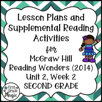 Second Grade Reading Wonders Lesson Plans and Extra Activi