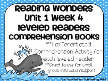 Reading Wonders Leveled Reader Comprehension Books  Gr. 2