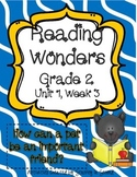 Reading Wonders Grade 2 Unit 1 Week 3