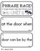 Reading Wonders - {Second Grade} - Unit 6 Phrase Race! Sig