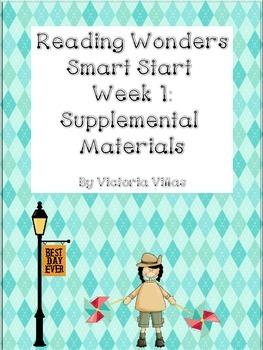 Reading Wonders Smart Start Week 1 Supplement