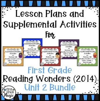 First Grade Reading Wonders UNIT 2 Bundle