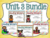 Reading Wonders Unit 3 BUNDLE for 2nd Grade