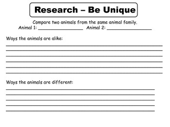 Reading Wonders Unit 3 Week 1 Research Project Template -