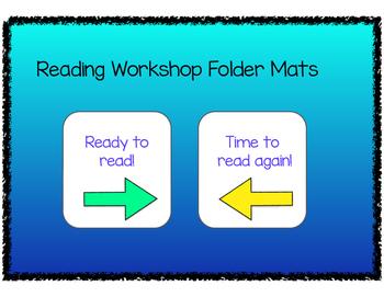 Reading Workshop Folder Mats