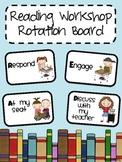 Reading Workshop Rotation Board