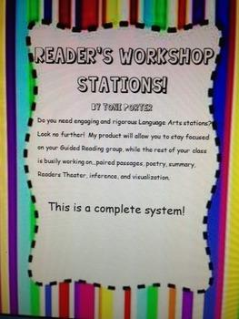 Reading Workshop Stations