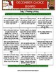 Reading Writing Choice Board for December (Holiday)
