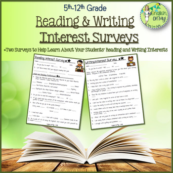 Reading & Writing Surveys, Questionnaire
