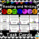 Reading & Writing Numbers Task Cards & Game