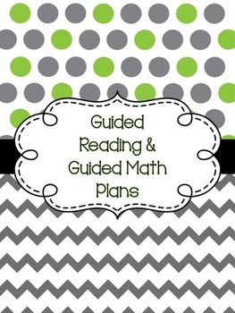 Reading and Math Planner
