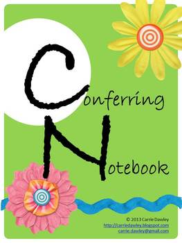Reading and Writing Conferring Notebook - Editable Forms f