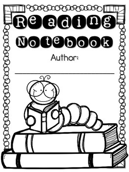 Reading and Writing Notebook Covers