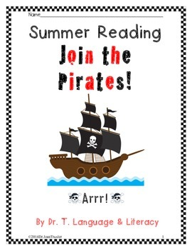 Summer Reading: Join The Pirates (Kindergarten)