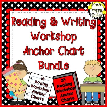 Reading and Writing Workshop Anchor Chart Bundle