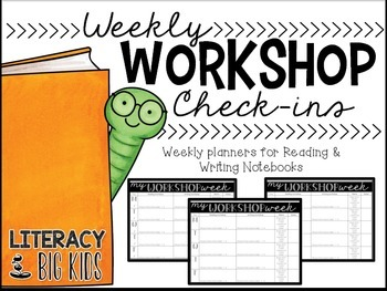 Reading and Writing Workshop Planning Check-Ins
