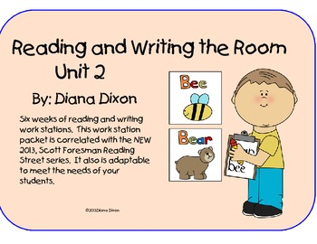 Reading and Writing the Room Work Stations   Unit 2