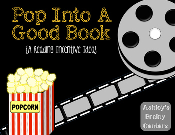 Reading at Home Incentive Idea (Movie Themed)