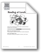 Reading at Lunchtime