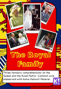 Reading Comprehensions - The Royal Family