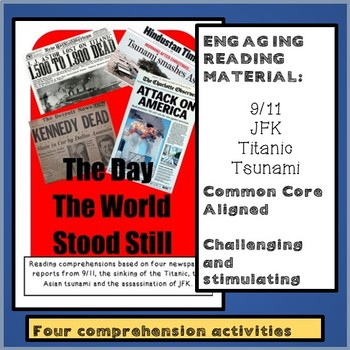 Reading comprehensions - The day the world stood still: 9/