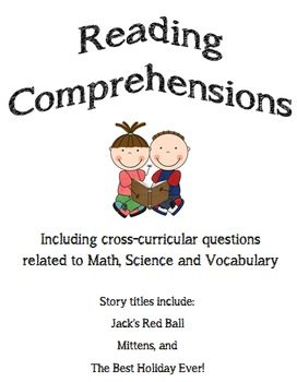 Reading comprehensions, including cross-curricular questions