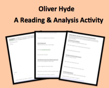 Reading for Application Activity & Letter Writing w/Oliver Hyde's