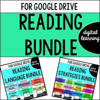 Reading for Google Drive & Google Classroom BUNDLE