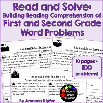 Reading for Math: Building Reading Comprehension of Story