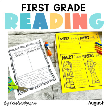 Reading for Real-A Month of Lesson Plans & Activities for August