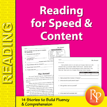 Reading for Speed & Content for Grades 3-4