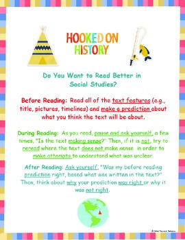 Reading in Social Studies Strategies! Make Thinking Visibl