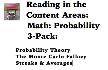 Reading in the Content Areas:  Probability