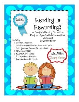 Reading is Rewarding! A Reading Motivation Program! Aligne