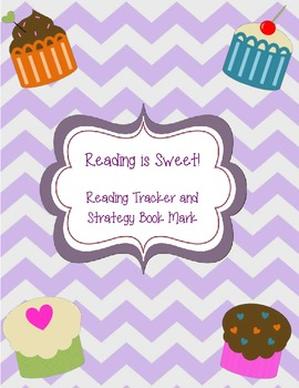 Reading is Sweet! Reading Tracker & Strategy Bookmark
