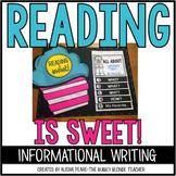 Reading is Sweet!   {Reading Week!}