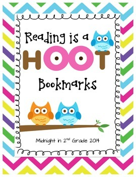 Reading is a HOOT Bookmark