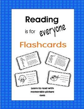 Reading is for Everyone - Flashcards