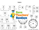 Reading scales lesson plans, worksheets and more (K to 2nd grade)