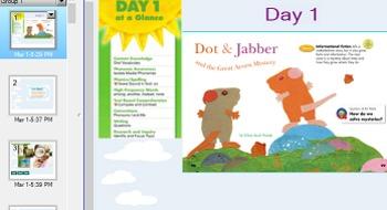 Reading street Dot and Jabber